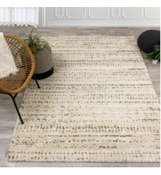 Kalora - Lane Cream Brown Distressed Tribal Rug (337/106 60110)