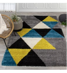 Kalora - 3x5 Maroq Colorful Triangles Soft Touch Rug (5741/3Y04 80150)
