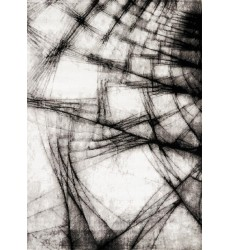 Kalora - 2x8 Platinum Grey Shatter Rug (3094/28 60230)