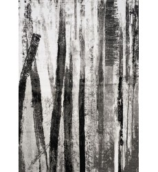 Kalora - Platinum Dark Forest Rug (3375/61 60230)