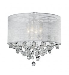 Beverly Chrome Other semi-flush Mts (52154) - Kuzco Lighting