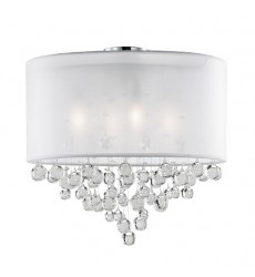 Beverly Chrome Other semi-flush Mts (52154W) - Kuzco Lighting