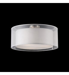 Circon Brushed Nickel Other semi-flush Mts (52332W) - Kuzco Lighting