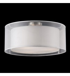 Circon Brushed Nickel Other semi-flush Mts (52333W) - Kuzco Lighting