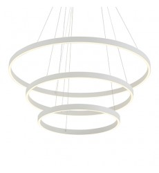 Cerchio White Down Chandeliers (CH86332-WH) - Kuzco Lighting