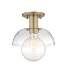 Mitzi - Kyla 1 Light Semi Flush (H107601-AGB)