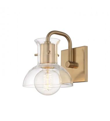 Riley 1 Light Bath Bracket (H111301-AGB)