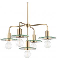 Mitzi - Peyton 5 Light Chandelier(H113805-AGB)