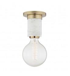 Asime 1 Light Flush Mount (H120601-AGB) - Mitzi Lighting