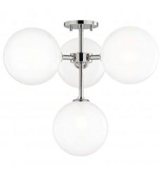 Ashleigh 4 Light Semi Flush (H122604-PN) - Mitzi Lighting