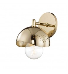 Heidi 1 Light Wall Sconce (H131101-PB)