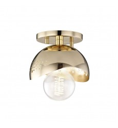 Mitzi - Heidi 1 Light Flush Mount(H131501-PB)