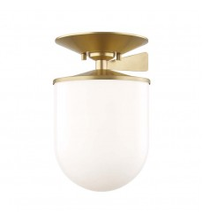 Audrey 1 Light Large Semi Flush (H214601L-AGB)