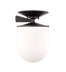 Audrey 1 Light Large Semi Flush (H214601L-OB)