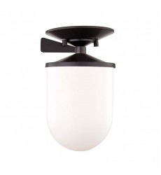 Audrey 1 Light Small Semi Flush (H214601S-OB)