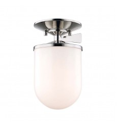 Audrey 1 Light Small Semi Flush (H214601S-PN)