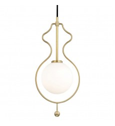 Abigail 1 Light Large Pendant (H248701-AGB)