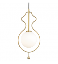 Mitzi - Abigail 1 Light Large Pendant(H248701-AGB)