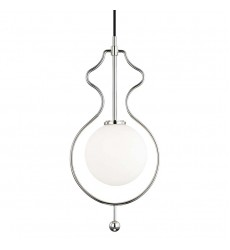 Abigail 1 Light Large Pendant (H248701-PN)