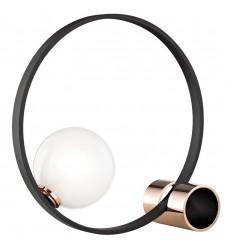 Zena 1 Light Table Lamp (HL155201-POC/BK)