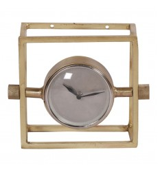 Renwil - Danforth CL215 - Table Clock - Brass Plated