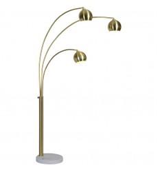 Dorset LPF3072 Satin brass Floor lamp - Renwil