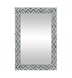 Abscissa MT1458 - Wall Mirror - Grey & Ivory - Renwil