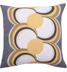 Almada PWFL1054 LinenVelvet piping Square Pillow - Renwil