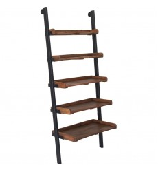 Bordo SHE007 - Shelf - Natural, Antique Black - Renwil