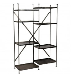 Millie SHE011 - Shelf - Grey - Renwil
