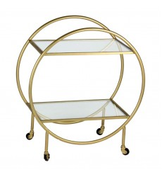 Bass TA140 - Bar Cart - Antique gold - Renwil