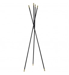 Renwil - Menta TA159 - Coat Rack - Matte black, brass