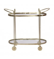 Renwil - Amora TA165 - Bar Cart - Brass Plated