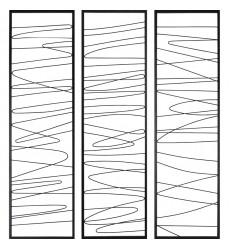 Studio Line - Linear W6556 Wall Art - Renwil