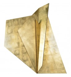 Leah W6576 - Wall Art - Gold Leaf Accent - Renwil