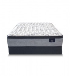 Serta - PerfectSleeper Kelowna Euro Top Firm Mattress - Twin XL Size