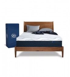 "Serta - Express 10"" Firm Memory Foam Mattress In A Box - Twin XL Size"