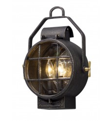 Troy -  Point Lookout 2Lt Wall Lantern Small (B5031)
