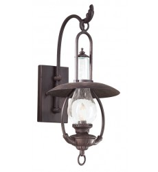 Troy -  La Grange 1Lt Wall Lantern Medium (BCD9010OBZ)