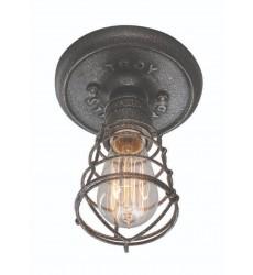Conduit 1Lt Ceiling Flush Small (C3810)