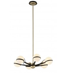 Troy -  Ace 6Lt Chandelier Small (F5303)