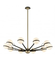 Troy -  Ace 10Lt Chandelier Large (F5306)