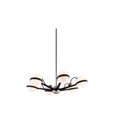 Ace 6Lt Chandelier Small (F7163) - Troy Lighting