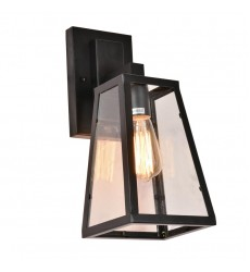 1 Light wall lamp with glass shade (E26) (1170WL)