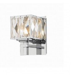 1 Light cube crystal wall lamp (G9) (1222WL)