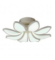 96w LED acrylic floral  flush mount white 6000K (2009FM8)