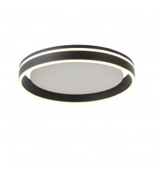 30W LED flush mount 3000K sand black (2051FM)