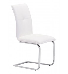 Anjou Dining Chair White (100121) - Zuo Modern