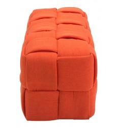 Checks Bench Orange (100639) - Zuo Modern