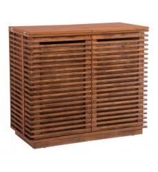 Linea Bar Cabinet Walnut (100670) - Zuo Modern